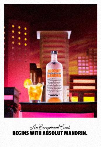 An Exceptional Crush begins with Absolut Mandrin