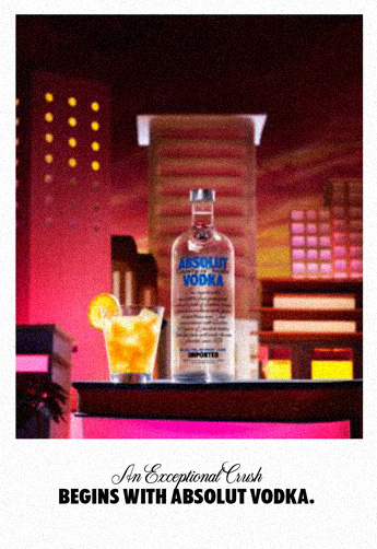 An Exceptional Crush begins with Absolut Vodka