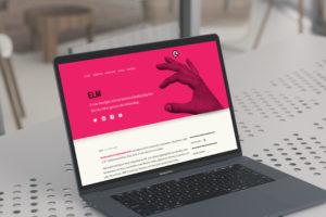 Eric Lindesvärd Marknadskommunikation, sajten 2017