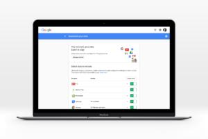 Exportera din data från Google