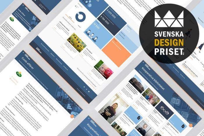 Marknadskommunikation, Svenska Designpriset, Svensk Kooperation